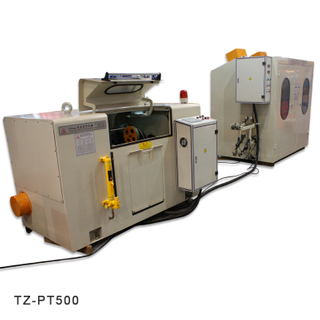 Pair Twist+Back Twist Machine | Twisting Machine Supplier - TaiZheng