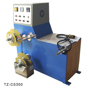 Small Size Semi-auto Coiling Machine | TaiZheng